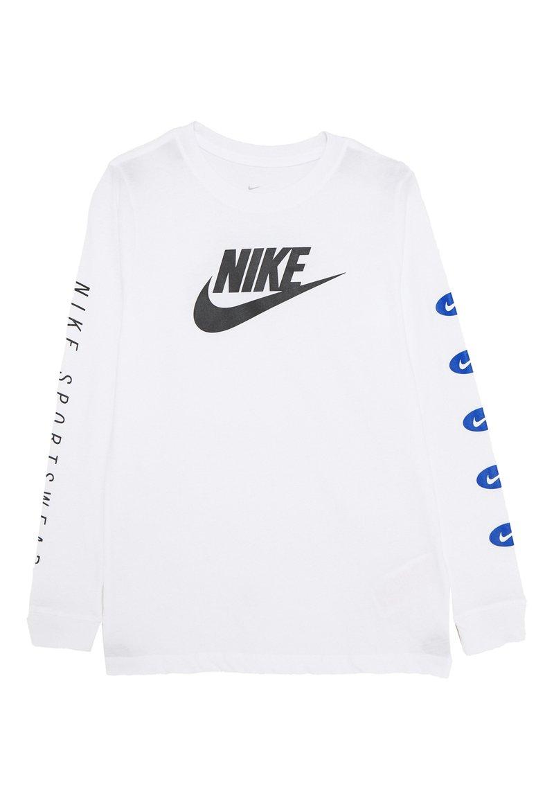 Nike Sportswear - TEE FUTURA - Bluzka z długim rękawem - white
