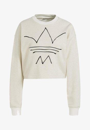 Sweatshirt - off white mel