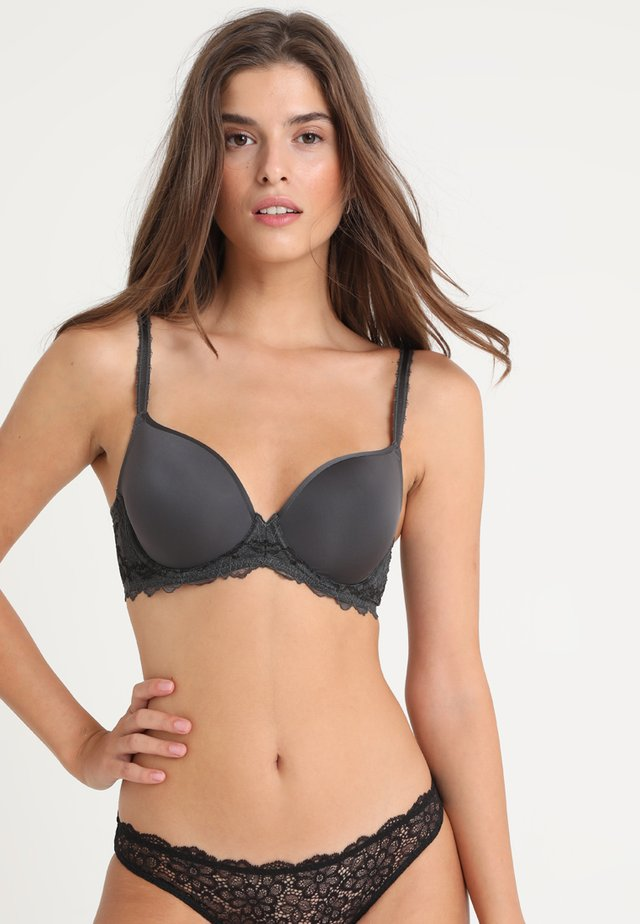 PERFECTION CONTOUR BRA - Underwired bra - charcoal