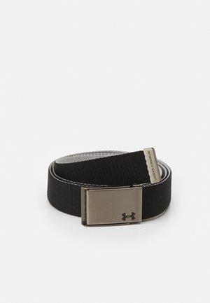 REVERSIBLE WEBBING BELT - Belt - black