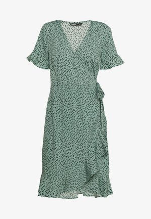 ONLOLIVIA  - Vestido informal - green/black