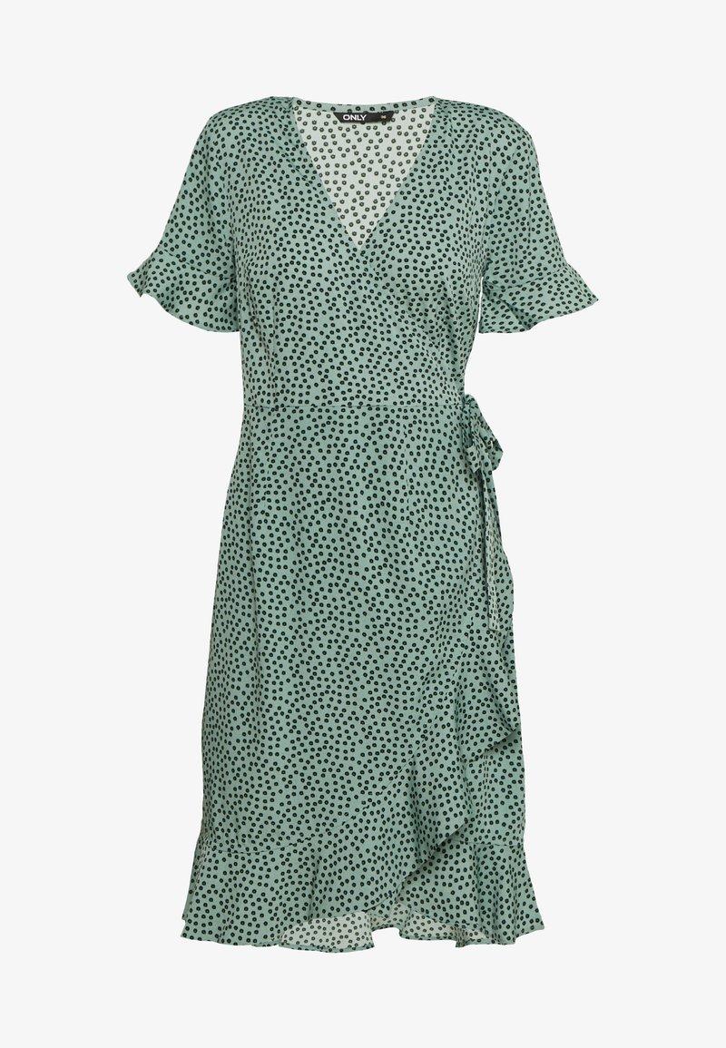 ONLY - ONLOLIVIA  - Sukienka letnia - green/black