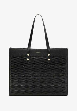 CAPE  - Tote bag - black weave