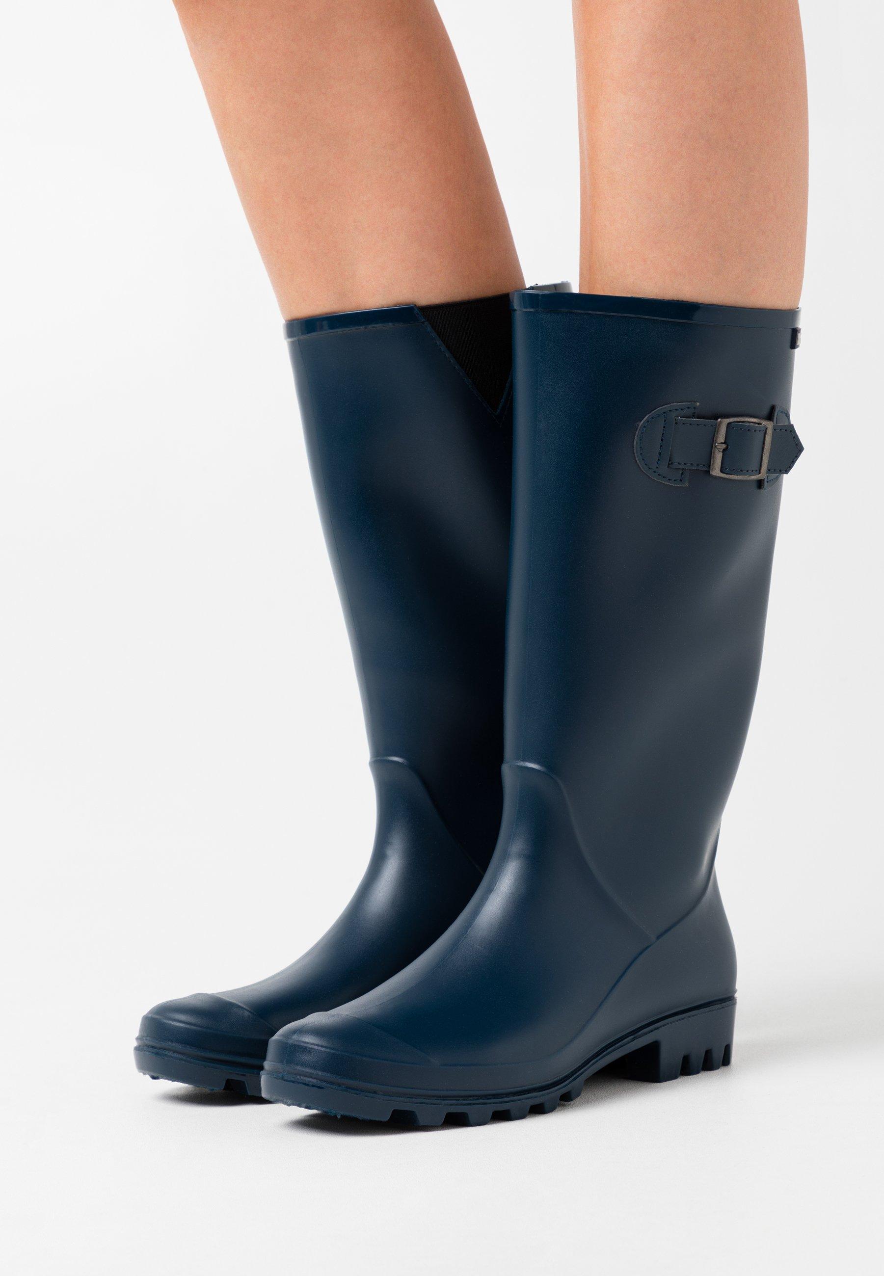 Scarpe da donna XTI Stivali di gomma navy