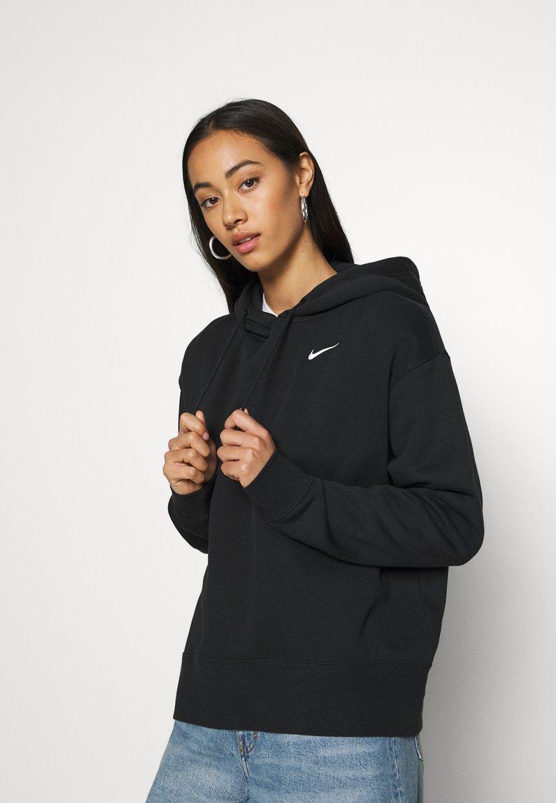 Nike Sportswear - HOODIE TREND - Hoodie - black/white