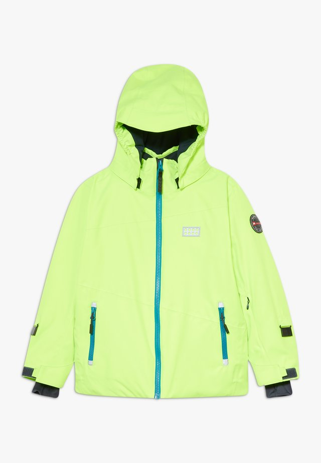 JOSHUA 700 JACKET UNISEX - Giacca da snowboard - light green