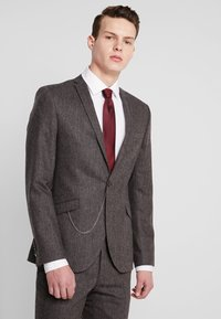 Shelby & Sons - NEWTOWN SUIT - Suit - dark brown - 2