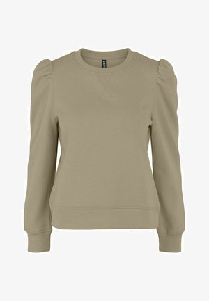 PCFRANCI - Sweatshirt - silver mink