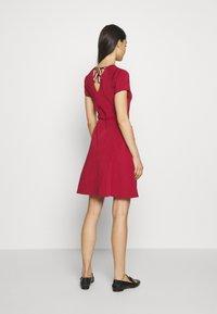 Bally - BELTED DRESS - Jumper dress - red - 2