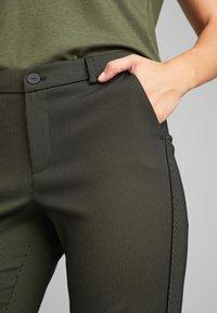 ECHTE - EBONY  - Trousers - sulphur yellow stripe - 3