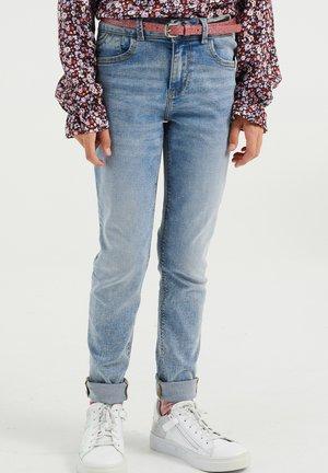 Jeansy Skinny Fit - light blue