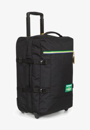 TRANVERZ M - Wheeled suitcase - havaianas black