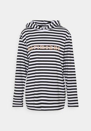 KIOSKI PALHO TASARAITA  - Bluzka z długim rękawem - white/black/beige