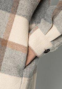 Stella Nova - EMMY - Classic coat - grey/creme/brown checks - 4