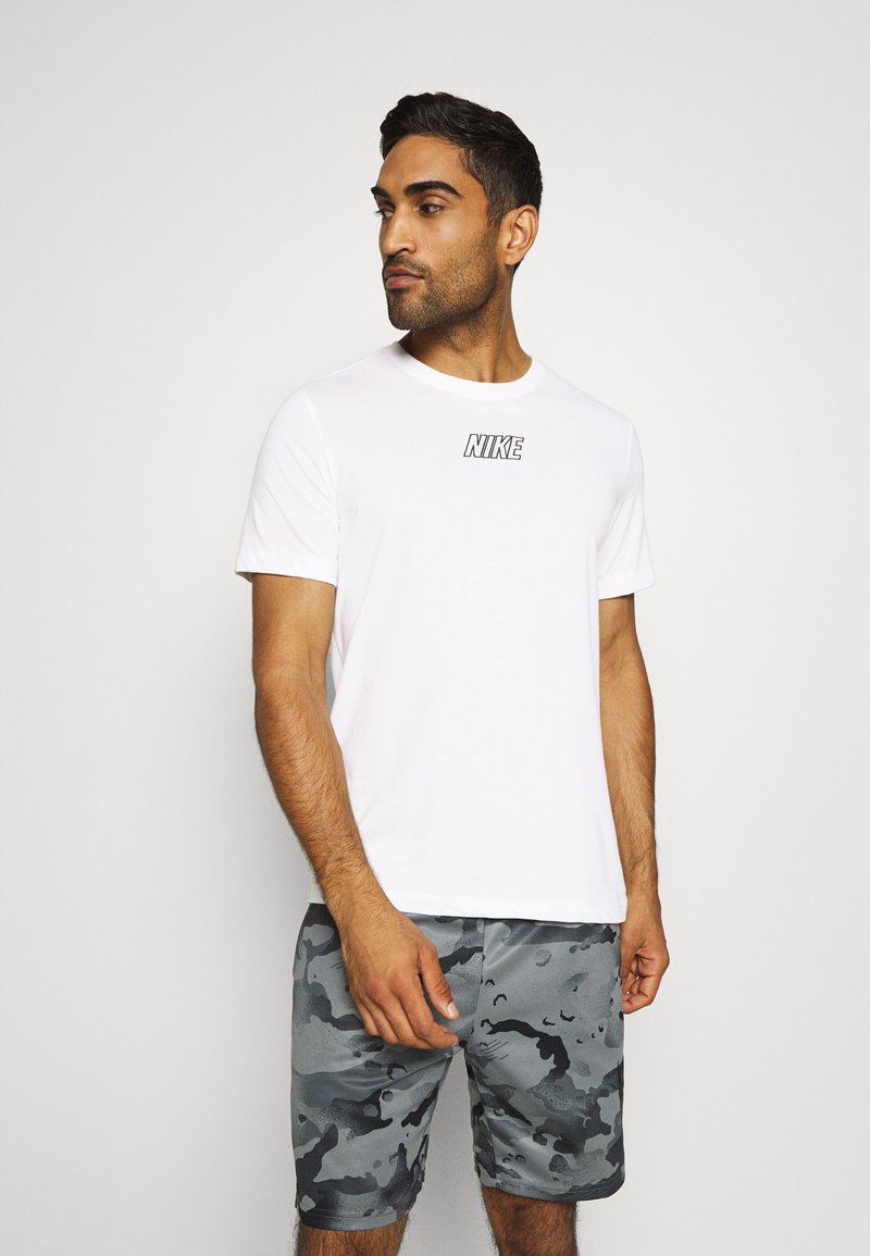 Nike Performance - TEE - Camiseta estampada - sail