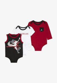 Jordan - JUMPMAN CLASSIC BODYSUIT 3 PACK - Tracksuit - black/white/red - 4