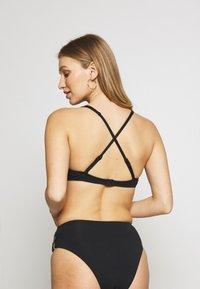 Seafolly - WIRE BRA - Bikini top - black - 2