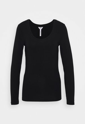 OBJKATE UNECK  - Long sleeved top - black