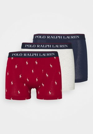 TRUNK 3 PACK - Shorty - red