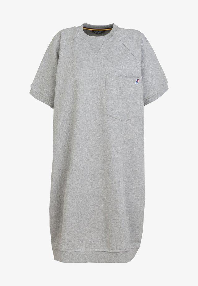 AMINE - Day dress - light grey melange