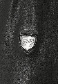 Gipsy - DAVIN - Nahkatakki - black - 6