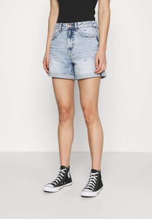 VMJOANA ACID  - Denim shorts - light blue denim