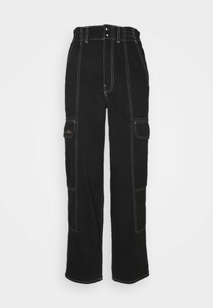 BLAINE - Jeans baggy - clean black