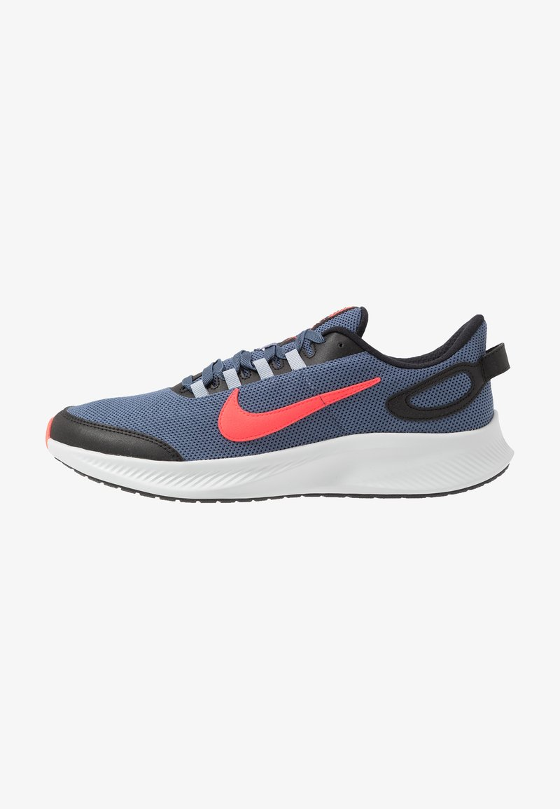 Nike Performance - RUNALLDAY 2 - Neutral running shoes - diffused blue/laser crimson/black