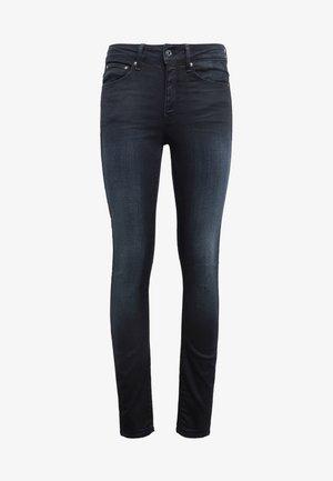 HIGH SKINNY - Skinny džíny - dark-blue denim