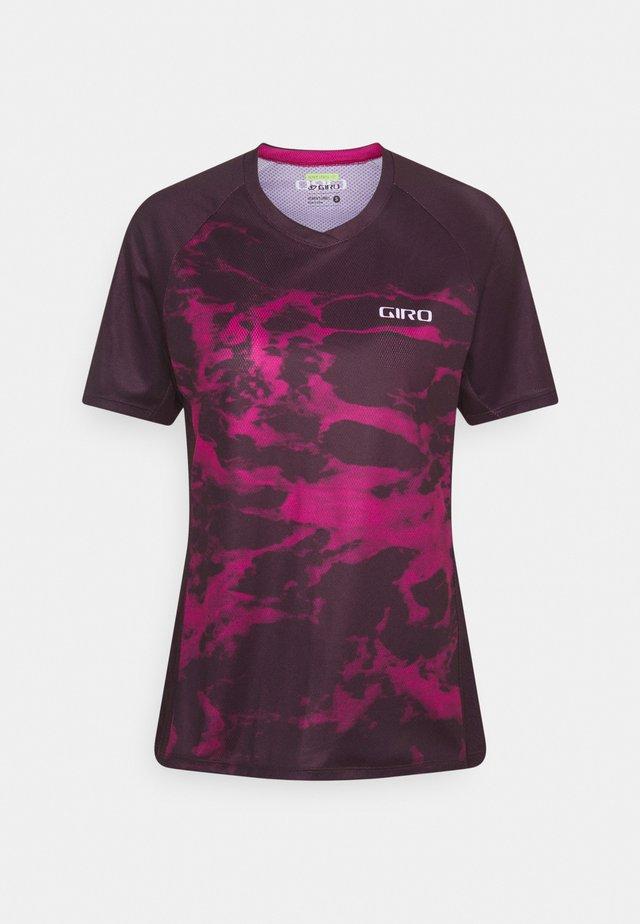ROUST - Print T-shirt - urchin foam