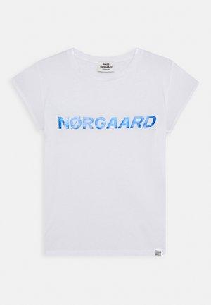 DIP TUVINA - T-shirts print - white