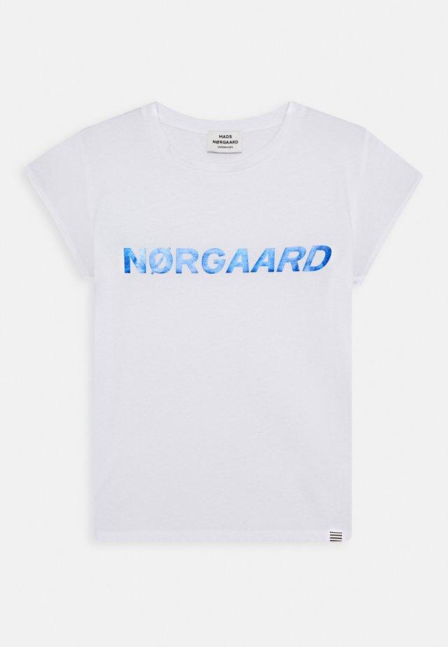 DIP TUVINA - T-shirt print - white