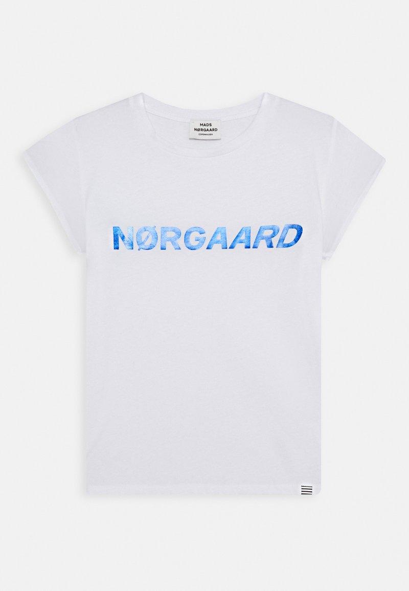 Mads Nørgaard - DIP TUVINA - T-Shirt print - white