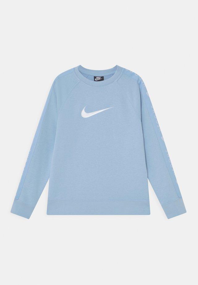 CREW - Sweatshirt - psychic blue/white