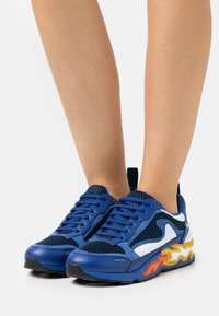 sandro - Sneakersy niskie - marine - 0