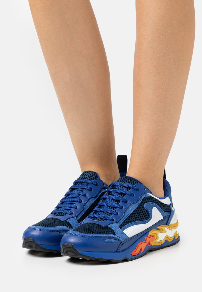 sandro - Sneakersy niskie - marine