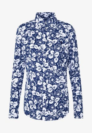 HEIDI LONG SLEEVE - Camisa - blue/ white