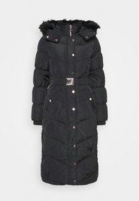 River Island - BELTED PUFFER - Winter coat - black - 5