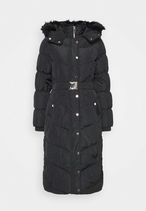BELTED PUFFER - Wintermantel - black