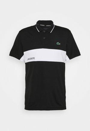 TENNIS  - Camiseta de deporte - black/white