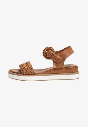 Sandalen met sleehak - coconut ccn