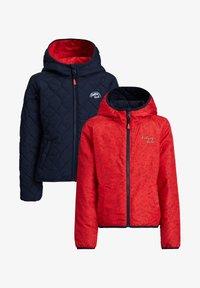 WE Fashion - DUFF VELAN REVERSIBLE - Light jacket - light red - 3