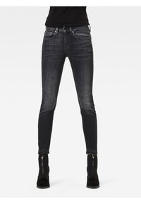 G-Star - MID SKINNY ANKLE - Jeans Skinny Fit - worn in corby black - 0