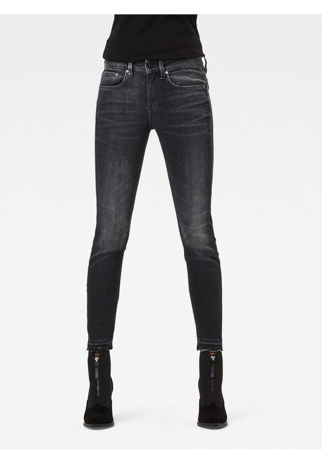MID SKINNY ANKLE - Jeans Skinny Fit - worn in corby black