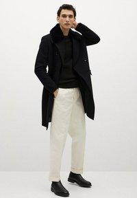 Mango - WILSON - Classic coat - schwarz - 1