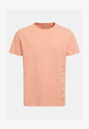 SEITENLOGO - T-shirt imprimé - orange