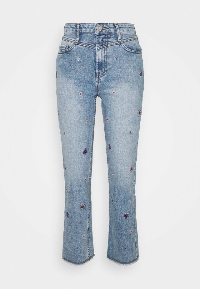 JULIET - Straight leg jeans - blue