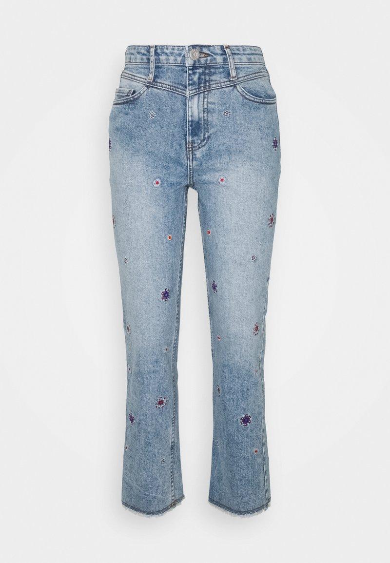 Desigual - JULIET - Straight leg jeans - blue