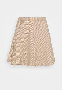 Monki - ULLA SKIRT - A-line skirt - beige - 3