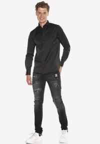 Cipo & Baxx - Formal shirt - schwarz - 1
